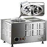 Musso Pola Stella Model Chef, Professionelle Eismaschine aus Edelstahl mit Sicherheitsvorrichtung, Made in Italy