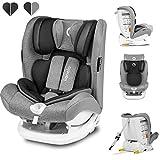 Lionelo Oliver Kindersitz 9-36kg Kindersitz Isofix Top Tether Seitenschutz 5 Punkt Gurt Rückenlehnenverstellung Kopfstützenverstellung Reduktionseinlage ECE...