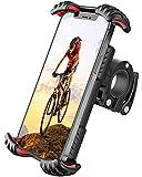 FLOVEME Motorrad Handyhalterung Fahrrad Handyhalter - Hüllenfreundlich Handy Halterung Fahrradlenker, Universal 360 Drehung Fahrradhalterung für 4,7 bis 7...