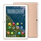 TOSCIDO 4G LTE Tablet 10 Zoll - Android 9.0 Zertifiziert von Google GMS,4GB RAM,64GB ROM ,Octa Core 2 GHz CPU schnelle Geschwindigkeit,Dual SIM,WiFi,Dual Stereo...