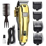 Haarschneidemaschinen Profi, OriHea Haartrimmer Herren, Kabelloser Barttrimmer Herren Haarpflege-Satz mit LED-Anzeige, wiederaufladbarer 2200-mAh-Akku mit...