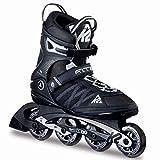 K2 Herren Inline Skates F.I.T. 80 - Schwarz-Grau - EU: 46 (US: 12 - UK: 11) - 30A0003.1.1.120