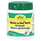 cdVet Naturprodukte Wurm-o-Vet forte Hund 75 g - Hund - Ergänzungsfuttermittel - überhöhter Wurmbesatz - Unterstützung - Mangel an Kräuterinhaltsstoffen -...