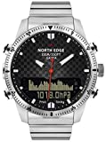 Unbekannt Unterstützungsbarometer & amp; Schrittzähler, Northward Edge GAVIA Herren Outdoor Sport Regenmantel Smart Digital Watch Taucheruhr