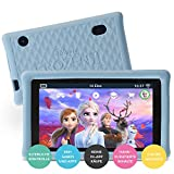 Pebble Gear Kinder Tablet 7' Die Eiskönigin 2 - Disney Frozen 2 kids tablet mit kindgerechter Hülle / stoßfester Bumper, elterliche Kontrolle,...