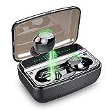 Lecover Bluetooth Kopfhörer, in Ear Kopfhörer Kabellos IP8 Wasserdicht 150H Kabellose Kopfhörer 3500mAh Sport Wireless Earbuds CVC8.0 HD Stereo Bluetooth 5.0...
