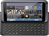 Nokia E7-00 Smartphone (10.2cm (4 Zoll) Clear-Black AMOLED Touchscreen, QWERTZ-Tastatur, 8 MP Kamera, GPS, WiFi, Ovi Karten, HDMI, 3.5mm Buchse) dark grey