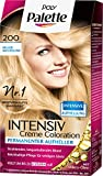 Poly Palette Intensiv Creme Coloration, 200 Helles Naturblond Stufe 3, 3er Pack (3 x 115 ml)