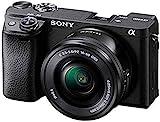 Sony Alpha 6400 | APS-C Spiegellose Kamera mit Sony 16-50mm f/3.5-5.6 Power-Zoom-Objektiv ( Schneller 0,02s Autofokus 24,2 Megapixel, 4K-Filmaufnahmen,...