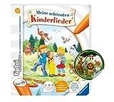 Collectix Ravensburger tiptoi ® Buch | Meine schönsten Kinderlieder + Kinder Tier-Sticker, Liederbuch ab 4 Jahren