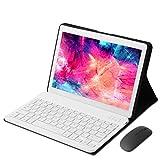 KISEDAR Tablet Android 9.0 10,1'PC4 GB RAM 64 GB Tablet Quad Core Unlocked Tablet, geeignet für 3G-Mobiltelefon, SIM-Kartensteckplatz mit Zwei Kameras,...