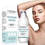 Hair Inhibitor Cream, Hair Inhibitor Permanent, Stop Hair Growth Inhibitor, Hair Growth Inhibitor Cream, Slows Hair Growth, Natural Non-Irritating Hair...