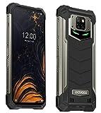 DOOGEE S88 Plus(8GB+128GB) 10000mAh Akku Outdoor Smartphone Ohne Vertrag, 48MP Quad-Kamera, Octa-Core Android 10, 6,3'' FHD+ Corning Gorilla-Glas, Drahtlose...