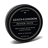 Gents of London Design Paste Mattes Haarwachs/Hair Wax für Fest Halt und Professionelle Haarstylings (50g)