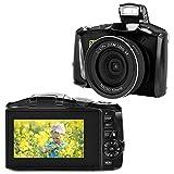 Digitalkamera Fotoapparat Digitalkamera 2.7K Full HD Kompaktkamera 48 Megapixel Minikamera mit 3-Zoll-Bildschirm
