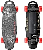 Benchwheel D1 28 'Elektro-Skateboard, 18,5 MPH Höchstgeschwindigkeit, 1000 W Motor, 7 Meilen Reichweite, 10 Pfund, 5 Lagen Maple Longboard mit drahtloser...