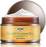 Vitamins Haarmaske Deep Conditioner - Haarkur für dünne, feine Haare mit Morroccan Arganöl, fördert Haarwachstum & Kopfhaut Pflege