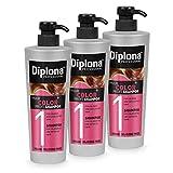 DIPLONA Shampoo für coloriertes & getöntes Haar - YOUR COLOR PROFI Shampoo für Frauen - veganes Haarshampoo ohne Silikone & Parabene - Damen Haarpflege 3x...