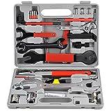 LARS360 44 TLG. Fahrrad Reparaturset Werkzeugkoffer Fahrrad Werkzeug Bike Tool Set Multifunktionswerkzeug