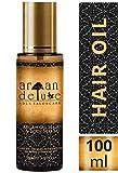 Argan Deluxe Haarl in Friseur-Qualitt 100 ml - Geschmeidigkeit, Glanz und toller Duft fr Haare und Haut