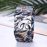Gudelaa Neue Kreative LED Papier Wasserdichte Uhr Super Licht Durable Digital Handgelenk Papier Uhr für Männer, Frauen, Kind 9#