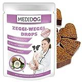 Zeggi Weggi 150g Premium Schutz Drops für Hunde, Kaltgepresst und Getreidefrei, mit Schwarzkümmelöl, Kokosöl und Zistrose, Hypoallergene Formel