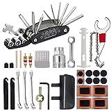 Fahrrad Multitools, 16 in 1 Fahrrad Reparatur Werkzeug Set, 22Pcs Fahrradflickzeug Reparaturset Multifunktionswerkzeug, Fahrrad Reparatur Zubehör mit...