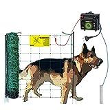 Eider Landgeräte GmbH Hundezaun aufstellfertig (50m) beliebig erweiterbar - Weidezaun für Hunde