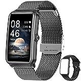 Smartwatch,1.57 Zoll Touchscreen Fitness Armbanduhr, Fitness Tracker mit Pulsuhr, IP68 Wasserdicht Sportuhr mit Schrittzähler Schlafmonitor, Smart Watch für...