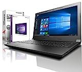 Lenovo (15,6 Zoll HD) Notebook (AMD A4-9125 2x2.6 GHz, 8GB DDR4 RAM, 1000GB HDD, Radeon R3, HDMI, Webcam, Bluetooth, USB 3.0, WLAN, Windows 10 Prof. 64 Bit, MS...