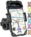 TruActive Premium Handyhalterung Fahrrad, Handyhalterung Motorrad, Handyhalter für Fahrrad für iPhone, Samsung und Handy mit 4,0-6,7 Zoll, 360° Drehen