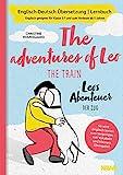 Zweisprachiges Buch deutsch englisch: Leos Abenteuer - der Zug   The adventures of Leo - the train   Deutsch Englisch Kinderbuch, bilinguale Erziehung,...