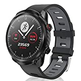 CatShin Smart Watch, Fitness-Tracker Touchscreen Smart Watch wasserdichte Uhr mit Herzfrequenzmesser Schrittzähler Schlafmonitor Stoppuhr für Männer und...