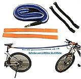 BikeZieherSet Fahrrad ABSCHLEPP-Set, zum Ziehen/Abschleppen von Fahrrädern, E-Bikes, Mountainbikes, Rennräder, Kinder-Rad, Räder, Elektro-Fahrrad –...