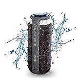 Hama Bluetooth-Lautsprecher (mit Touch-Steuerung, 24 W, tragbar/kabellos/spritzwassergeschützt IPX4, NFC, AUX, 3,5mm Klinke, BT 4.1, Freisprechfunktion,...