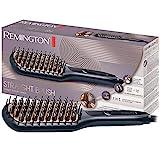 Remington Glättbürste 2in1: Glätteisen & Haarbürste für eine reduzierte Stylingzeit (Keramikbeschichtete & antistatische Borsten mit kühlen Enden,...