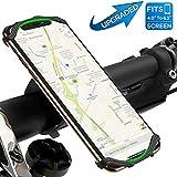 VUP Handyhalterung Fahrrad,Face ID/Touch ID kompatibel,360°drehbar Fahrrad Handyhalterung,universal Motorrad Handyhalterung für iPhone,Galaxy,Huawei&allen...
