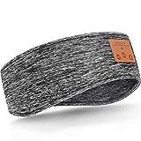 Schlafen Stirnband Verbessertes Bluetooth Stirnband, Kabellose Sport Stirnband Kopfhörer, Winter Stirnband Ohrwärmer, Musik Schlafen Stirnband für...