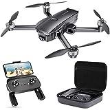 SNAPTAIN SP7100 Faltbare GPS Drohne mit 4K UHD Kamera Live-Video für Erwachsene, Quadcopter mit Bürstenlosem Motor, Intelligente GPS Rückkehr, Follow Me, POI...
