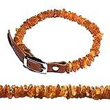 Amber Neck Bernstein Halsband. Elegantes, handgemachtes, ganz natürliches Baltisches Bernstein. Mit Liebe gemacht, schön, praktisch, natürlich (40-45)