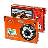 VOXPAN Digitalkamera für Anfänger, 8X Digital Zoom HD Digitalkamera Fotoapparat 21 MP 1080P HD 2,7 Zoll Foto Kompaktkamera Mini-Fotokamera Klein Geschenk für...