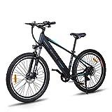 Macwheel Wrangler-600 27,5' Elektrisches Mountainbike, Austauschbarer 36V/12,5Ah Lithiumionenakku im Rahmen Integriert, Shimano 7-Fach, Sattel Verstellbar,...