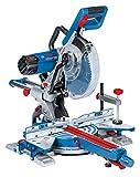 Bosch Professional Paneelsäge GCM 350-254 (1x Sägeblatt Holz, Klemmschelle, Karton, Nennaufnahme: 1.800 Watt, Schnittkapazität mit/ohne Abstandshalter: 100 x...