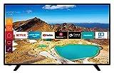 Telefunken XU58G521 147 cm (58 Zoll) Fernseher (4K Ultra HD, Triple Tuner, Smart TV, HDR10, Prime Video, Works with Alexa)