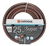 Gardena Premium SuperFLEX Schlauch 19mm (3/4 Zoll), 25 m: Gartenschlauch mit Power-Grip-Profil, 35 bar Berstdruck, hochflexibel, formstabil, UV-beständig...