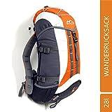 MONTIS SPEED 28 Unisex Trekking-Rucksack, Wander-Rucksack & Reise-Rucksack in einem, ermöglicht dank Regenschutz auch Bike- & Campingtouren, im...