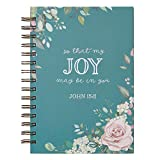 Journal Wirebound Large That Joy May Be in You - John 15:11