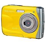 EasyPix W1024 Splash Digitalkamera, wasserdicht 3m, CMOS 10MP, 2,4'LCD, gelb