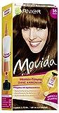 Garnier Tönung Movida, Intensiv-Tönung Haarfarbe 35 Braun-ohne Ammoniak, 3er Pack Haarcoloration-Set