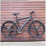 aipipl Fahrräder Adult Mountainbike Herren MTB Rennrad für Damen 24 Zoll Räder Verstellbares Doppelscheibenbremse Offroad Bike